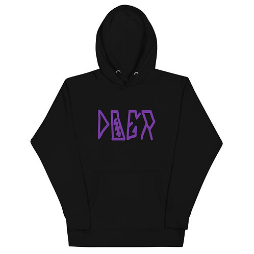 LUSU Designs Unisex Hoodie Collection Doer Purple Label I