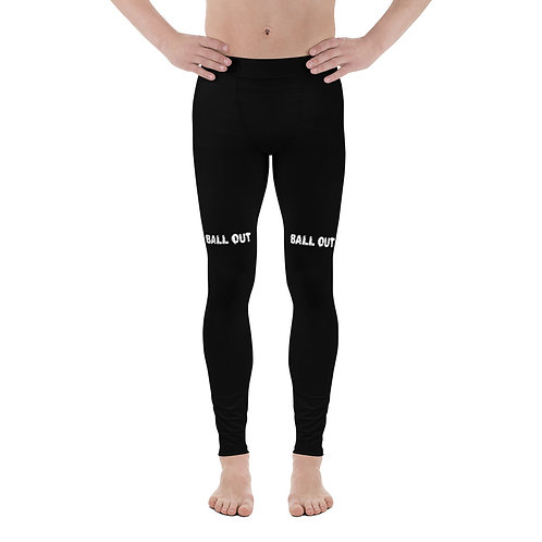 LUSU Designs Men's Leggings Ball Out Blanco Label III