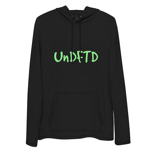LUSU Designs Unisex Lightweight Hoodie Collection UnDFTD Kiwi Label