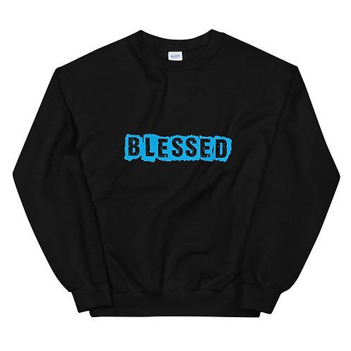 LUSU Designs Unisex Sweatshirt Collection Blessed Azure Label