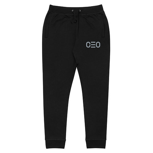 LUSU Deisgns Unisex Skinny Joggers CEO Platinum Label