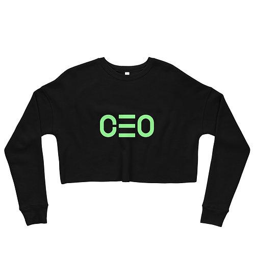 LUSU Designs Crop Sweatshirt Collection CEO Kiwi Label