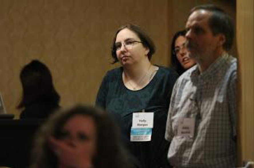 Photo of the Writer, Holly, at NeuroConnect Summit