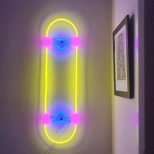 Glowing Skate - Signe en néon LED
