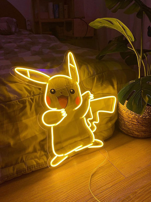 Pikachu - Signe en néon LED