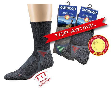 Merinowolle Funktions- u. Trekking-Socken