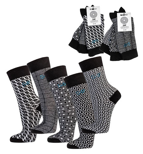 """Grafik-Sox"" Herrensocken * 3er-Bündel"