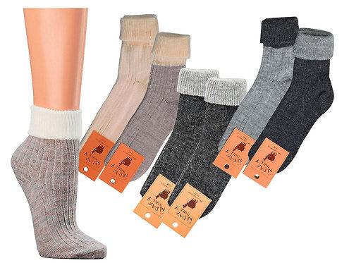 Socken Unisex Alpaka-Wolle