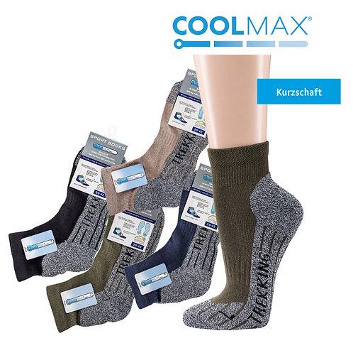 Kurzschaft COOLMAX® Trekking-Socken