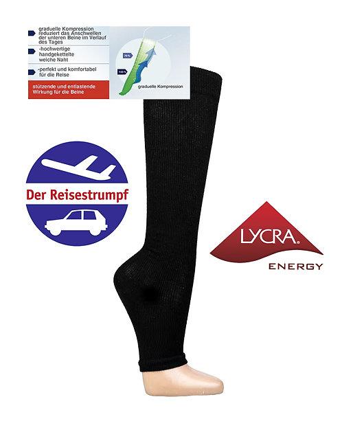 LYCRA® Energy Stützkniestrumpf Ohne Fußspitze * 2er-Bündel