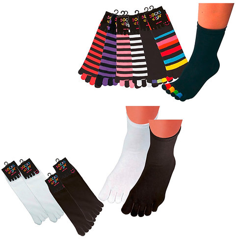 Einzel-Zehen-Socken * 2er-Bündel