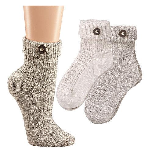 Umschlag Socken Damen und Herren
