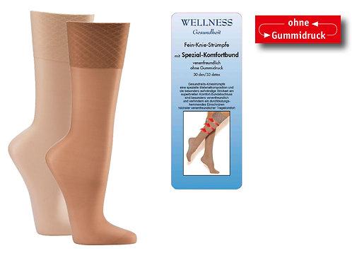 Gesundheits-Knie-Fein-Strümpfe 30den * 5er-Bündel