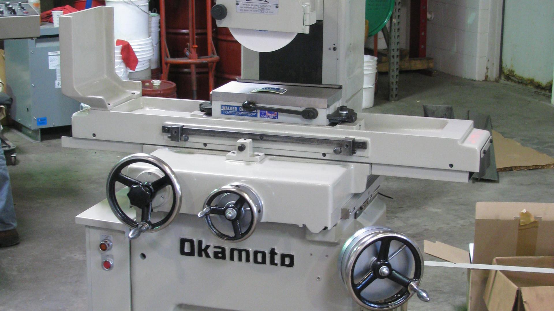 OKAMOTO Linear Manual Surface Grinder