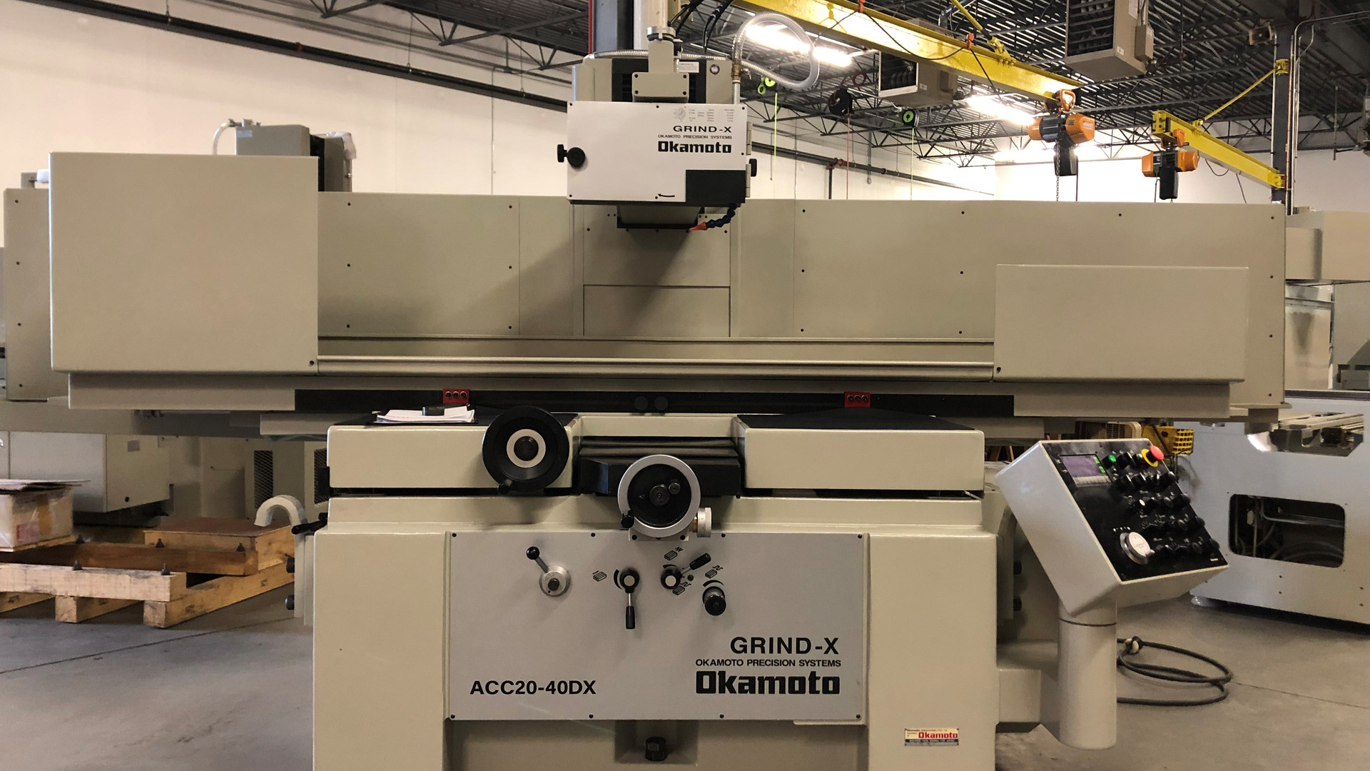 OKAMOTO 20.40DX Automatic Surface Grinder