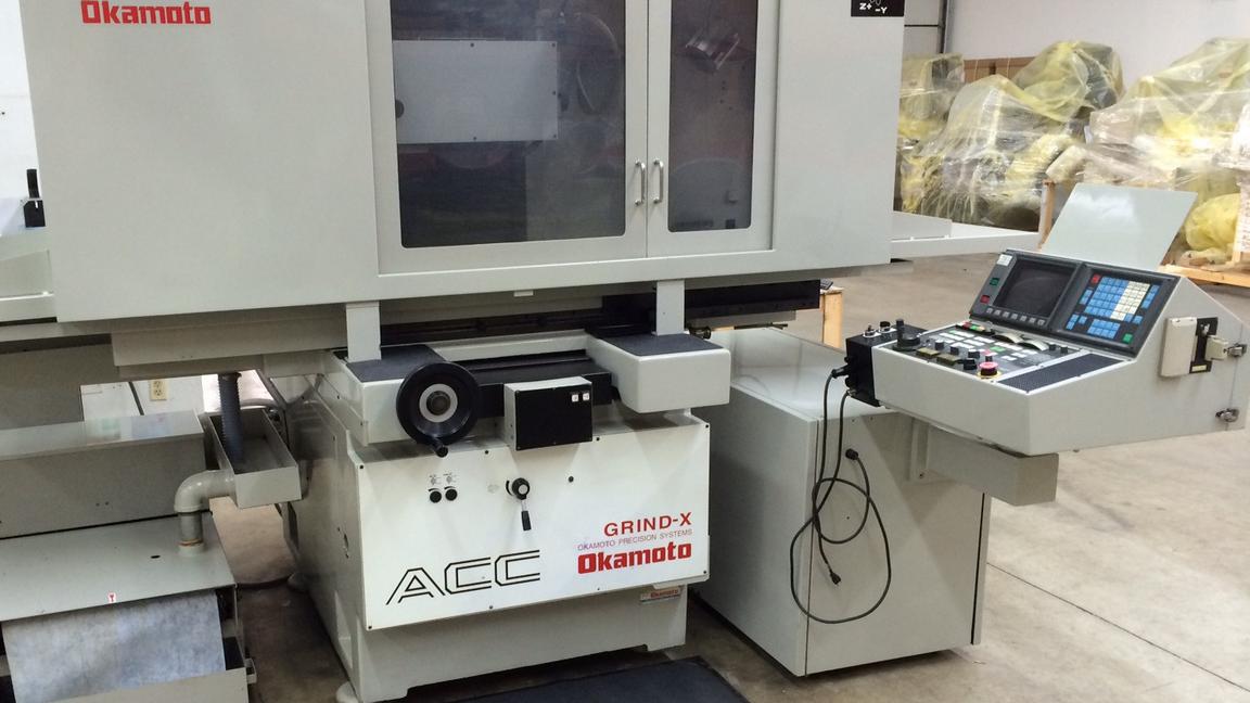 OKAMOTO 16.24DXNC CNC Surface Grinder