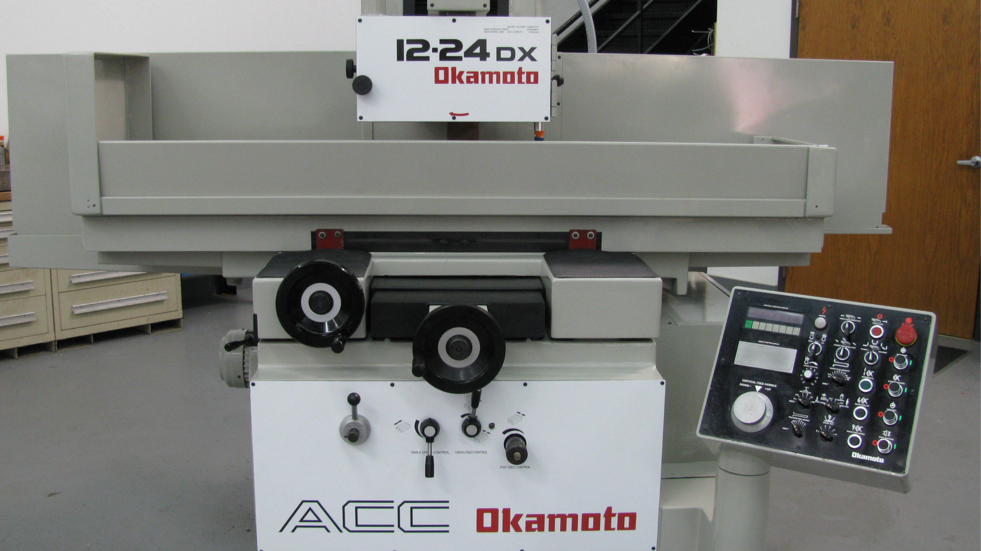 OKAMOTO 12.24DX Automatic Surface Grinder