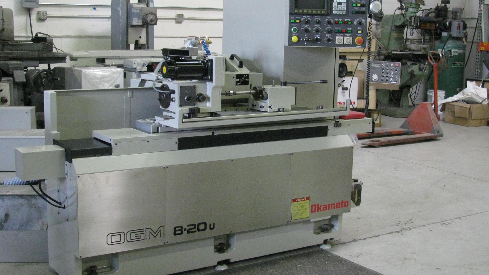 OKAMOTO OGM-820U Cylindrical Grinder