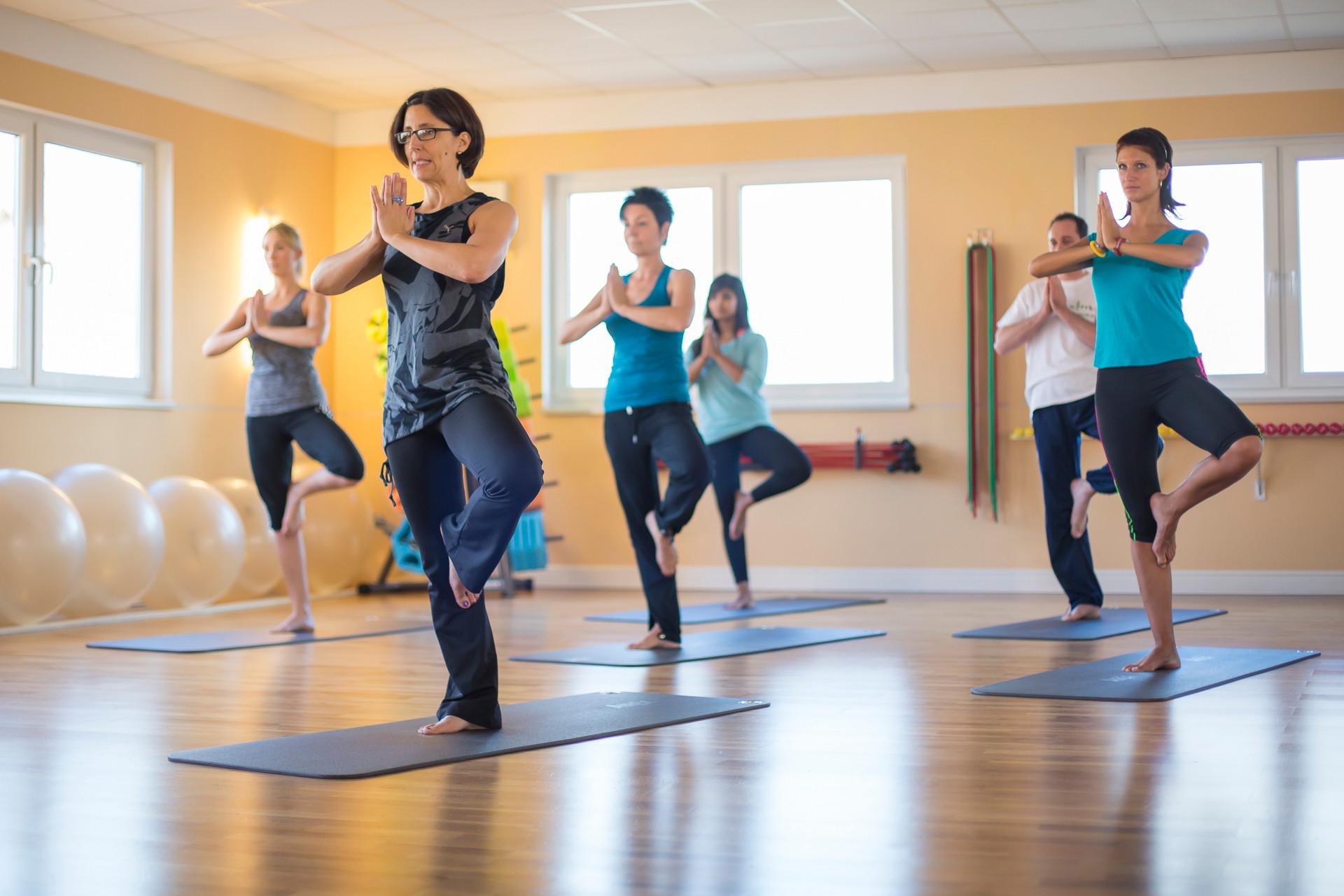 Flow into Yoga mit Tanja