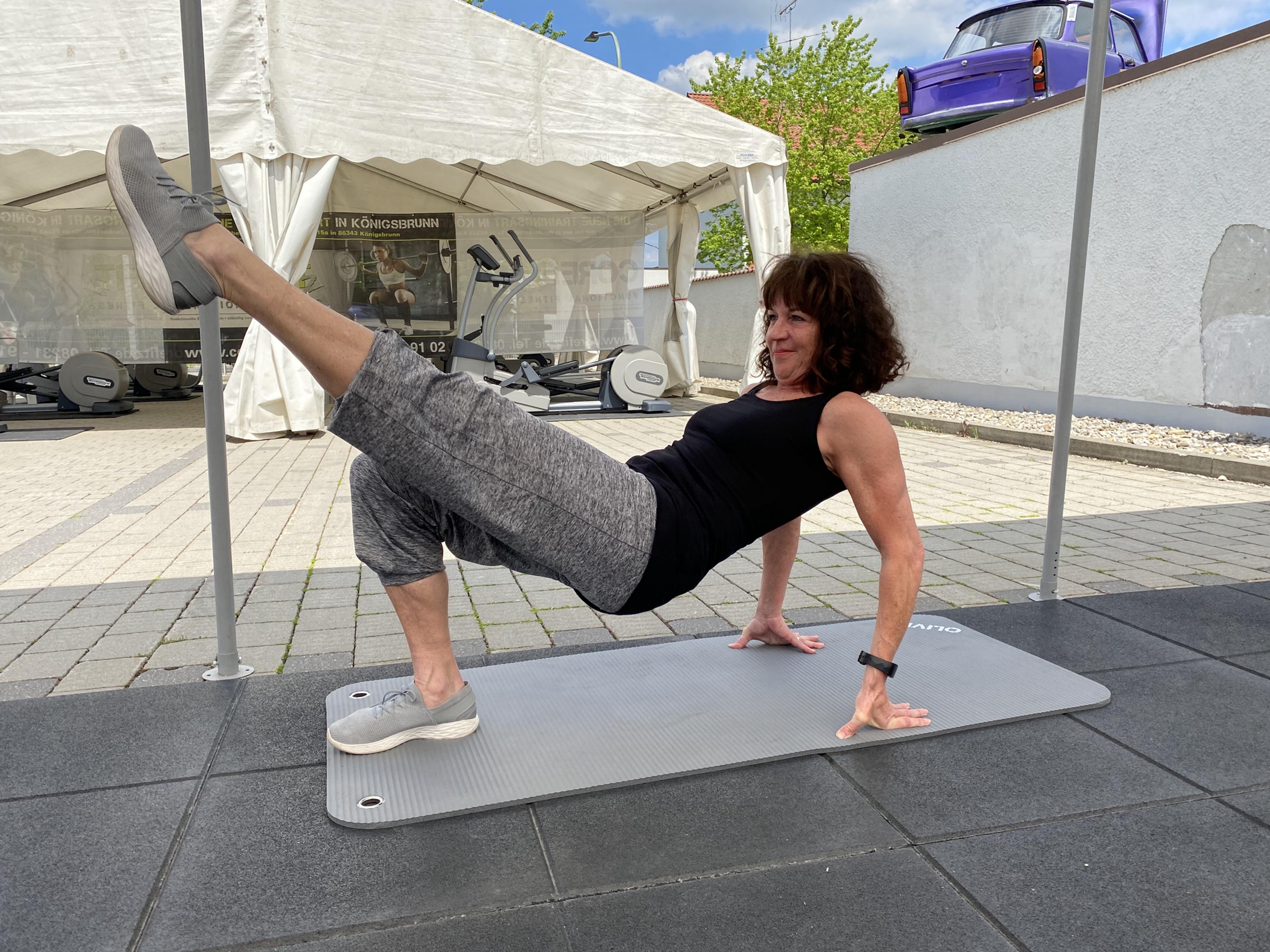 Body-Workout mit Carina