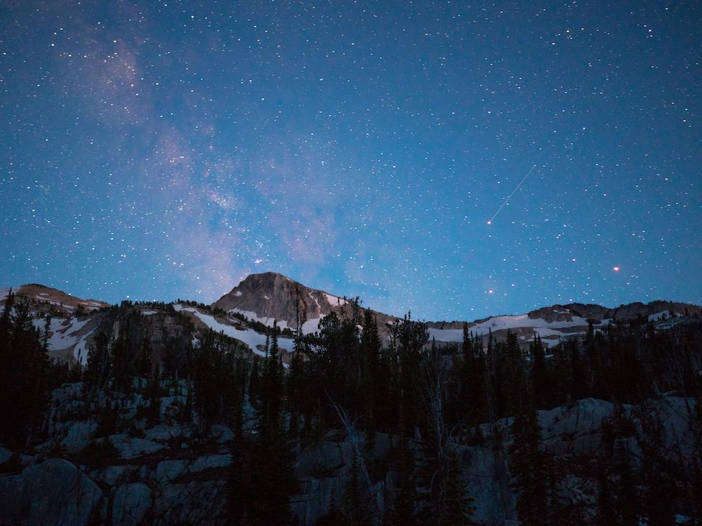 Eagle Cap under the Milky Way