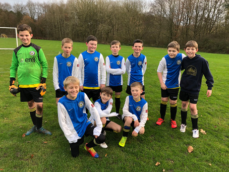 Timperley Villa match reports 7th - 8th December 2019