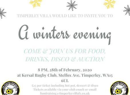 Timperley Villa Winter Evening