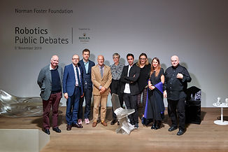 Yale CEA joins the Norman Foster Foundation Robotics Atelier