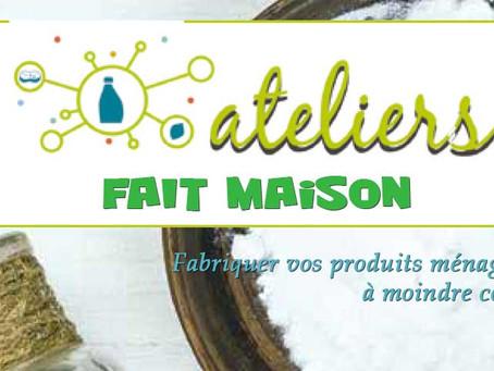 """Reprise des Ateliers """"FAIT MAISON"""" à partir de Septembre 2021."""