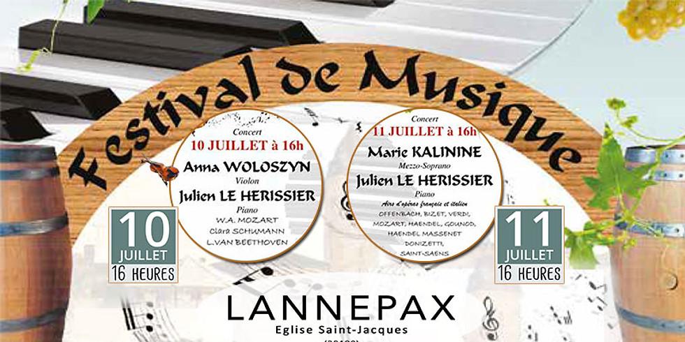 Festival de Musique Classique à LANNEPAX