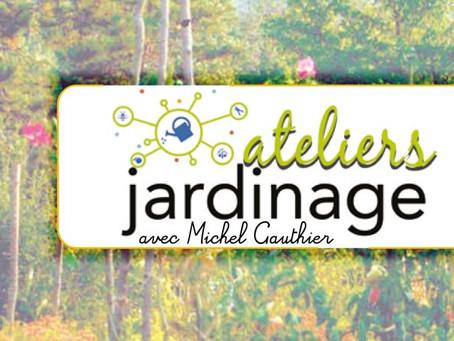 Ateliers Jardinage reportés à une date ultérieure.