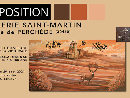 Galerie Saint-Martin de Perchède