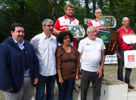 Palmares du Championnat de France de Quilles au Maillet à Perchède.