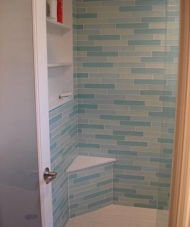 Light Blue Shower