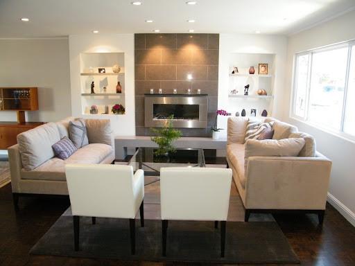 Recess Lighting in Living Room