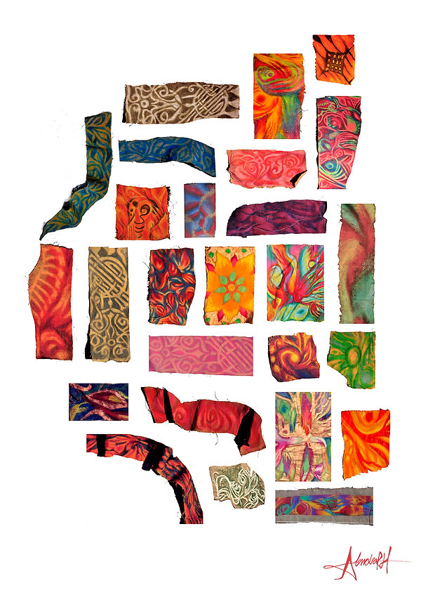 Pastel Collage Alondra Ruiz-Hernandez