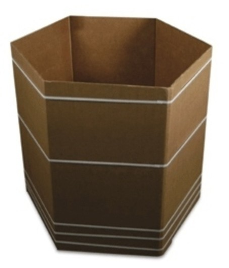 six sided bulk bin