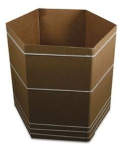 six sided bulk bin