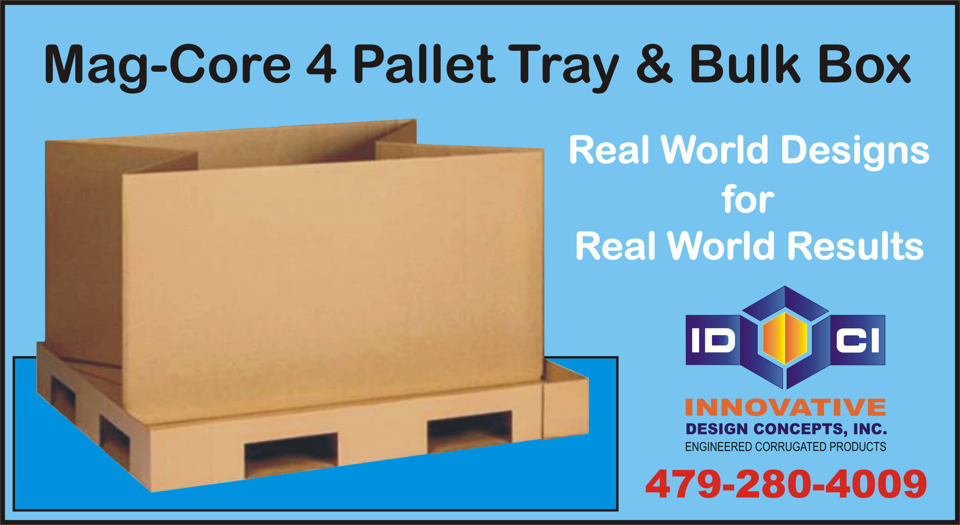corrugated pallet box
