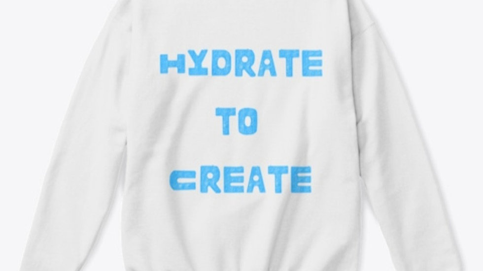 Hydrate To Create Crewneck