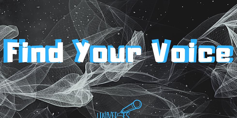 uniVERSES: Find Your Voice