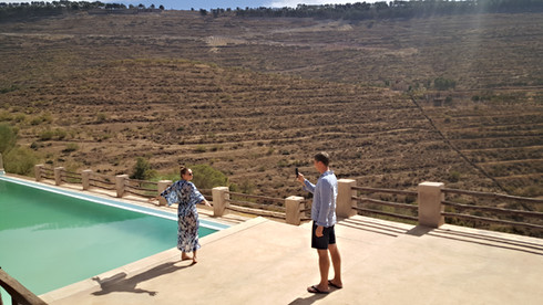 Ecolodge Le Douar Berbère Marrakech Ourika Marokko
