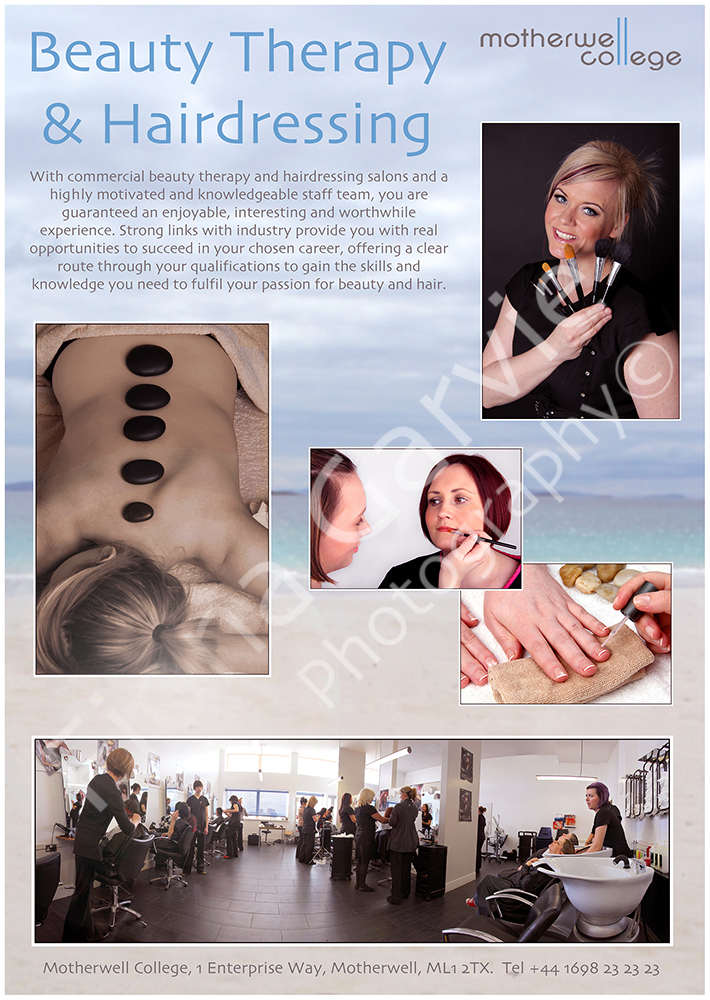 Beauty Therapy & Hairdressing Poster