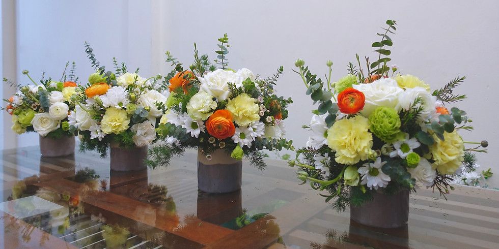 Table centrepiece for Mother's Day