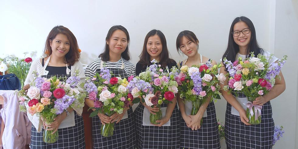 Flowers in Vase Workshop