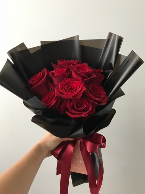 Mono Rose Bouquet