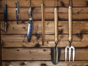 Putting Away Your Garden Tools