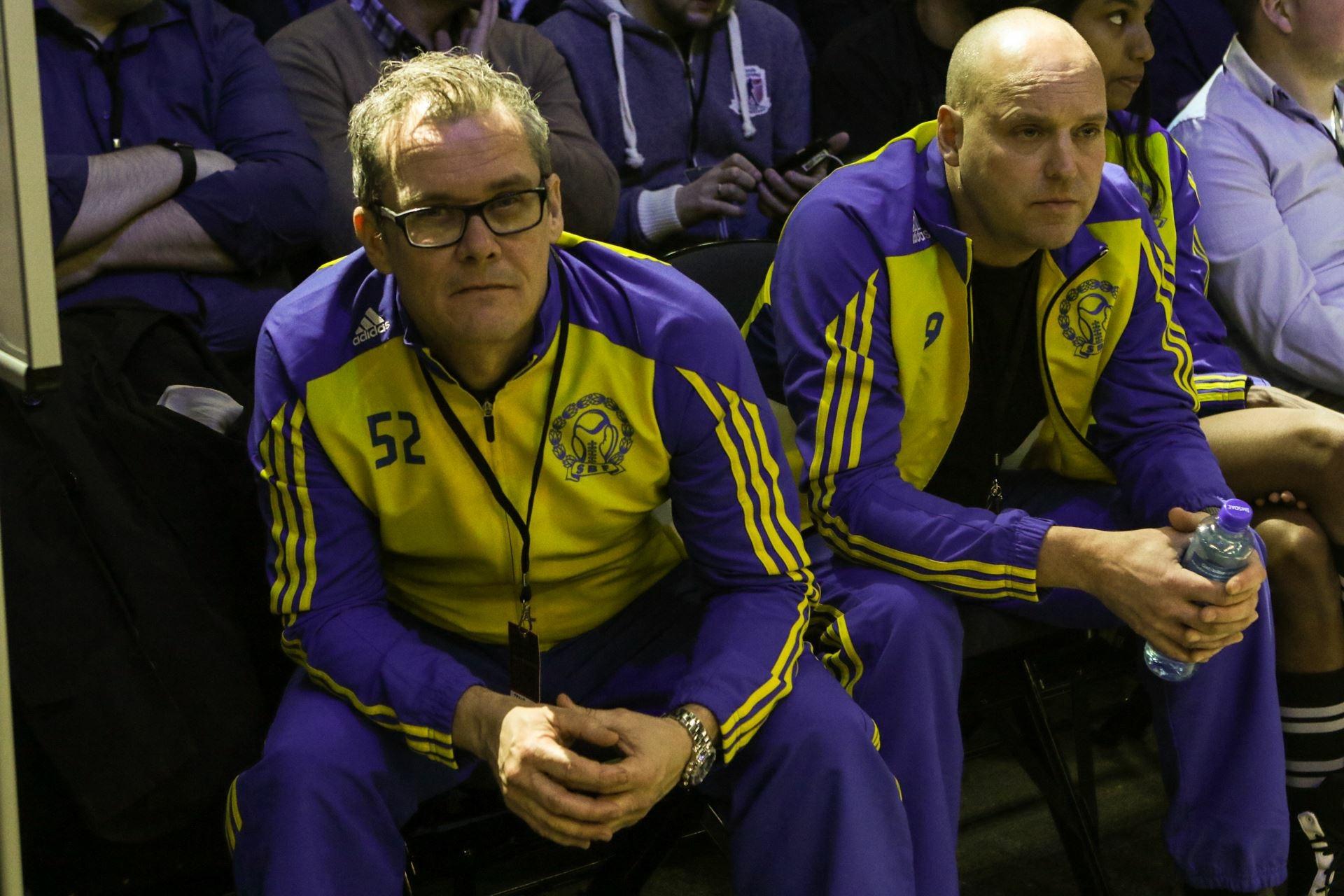 Landslaget i oslo Spektrum med Staffan och trond