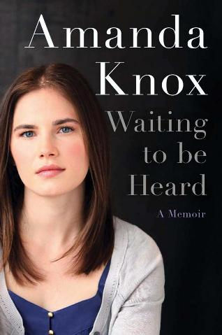 Cover for Amanda Knox's autobiography