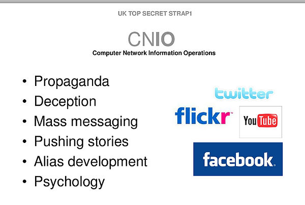 GCHQ PowerPoint slide